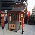 Photos: 友元神社 広島市南区松原町 エキシティ 2階 デッキウォーク 2017年9月9日