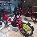写真: 広島市観光レンタサイクル ぴーすくる サイクルポート3 エールエールA館東側 広島市南区松原町