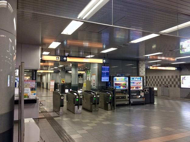 アストラムライン県庁前駅 改札 広島市中区基町