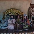 13世紀村「王の村」王様のゲルに3人の姫さまが居た!