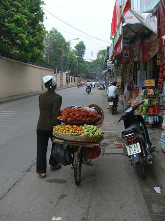 NgocHa の果物売り