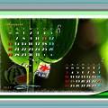 Photos: 8月カレンダー