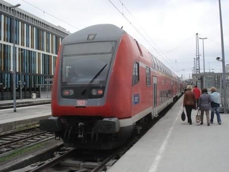 ザルツブルク行き快速(ミュンヘン駅)