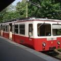 写真: 登山電車(麓駅)