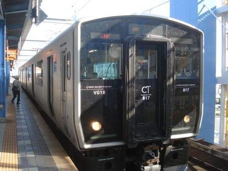 鹿児島中央行き普通列車