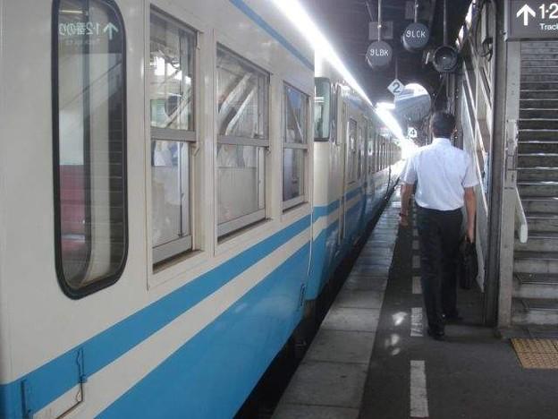 牟岐行き普通列車(徳島駅)