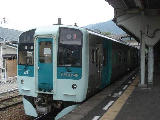 徳島行き普通列車(阿波池田駅)(2)