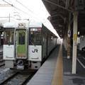 写真: 越後川口行き普通列車(長野駅)