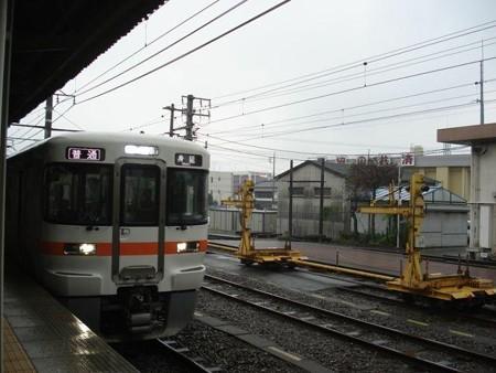 身延行き普通列車(富士宮駅)