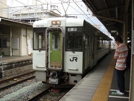 越後川口行き普通列車(長野駅)