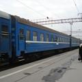 写真: N12列車(アルマティ2駅)