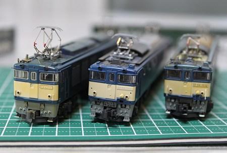 EF64 3兄弟