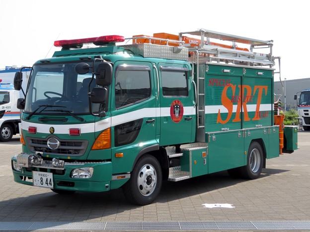 122 警視庁 警備部 災害対策課 救助工作車
