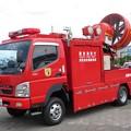 355 東京消防庁 第六消防方面本部 消防救助機動部隊 大型ブロアー搭載車