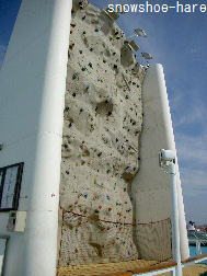 ロッククライミング用壁