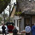 写真: 170422松ヶ岡開墾場 出番待ち