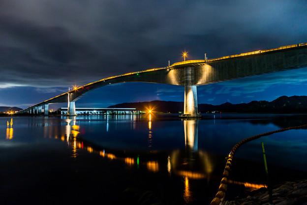 写真: 夜景 鳥取