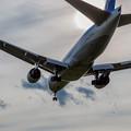 写真: landing