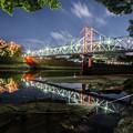写真: 岡山城 月見橋