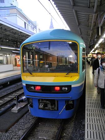 485系ニューなのはな(新宿駅)1
