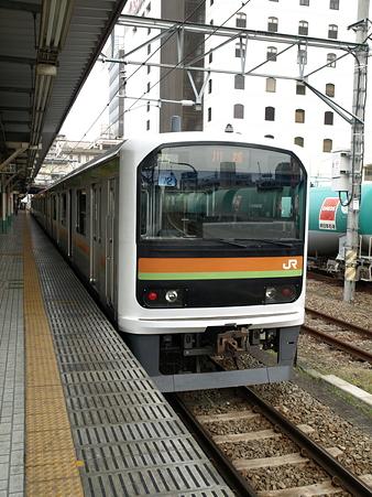 209系八高線(八王子駅)