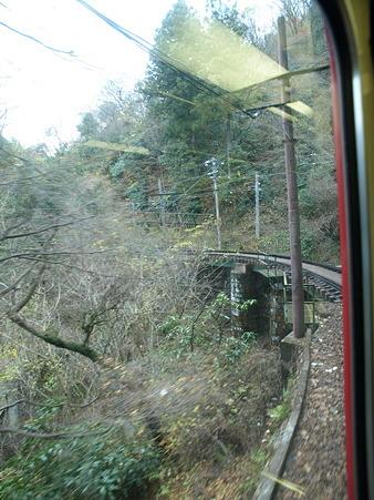 箱根登山電車の車窓(大平台駅→宮ノ下駅)11