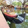写真: アレッピー(水郷)の船 Canal scene