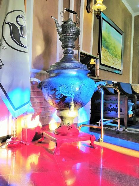 サモワールとティーポット~イラン Samovar & teapot