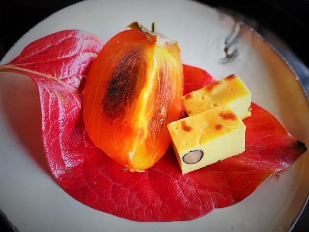 会席料理のデザート  Kaiseki seasonal dessert