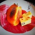 写真: 会席料理のデザート  Kaiseki seasonal dessert