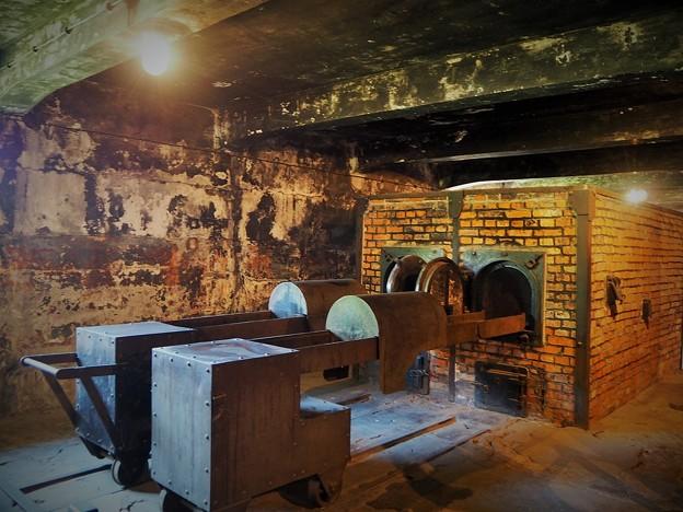 写真: 『サウルの息子』の舞台~アウシュヴィッツ Crematorium at   Auschwitz