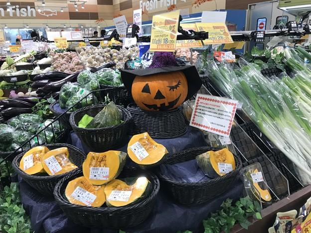 かぼちゃ売り場