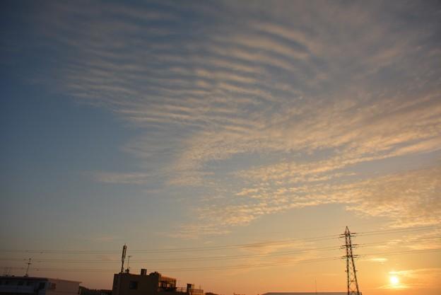 おもしろい雲1