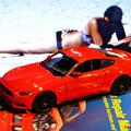 写真: 2015 Ford Mustang GT 10092017