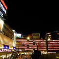 写真: 新宿駅西口 12122017