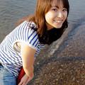 写真: 海、来たよ~っ!