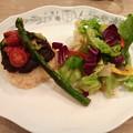 彩りグリル野菜のドライカレー