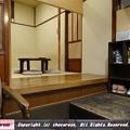 写真: ちゃぶ台のある和カフェの風景