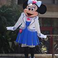 写真: ミニーちゃんがドキドキ?