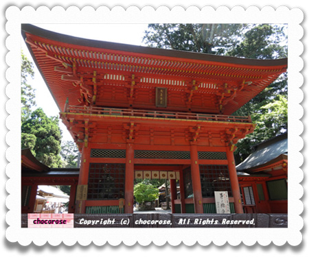 鹿島神宮楼門