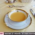 写真: 野菜のポタージュスープ