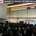 写真: サロショのオープン5分前