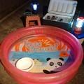 我が家のナイトプール