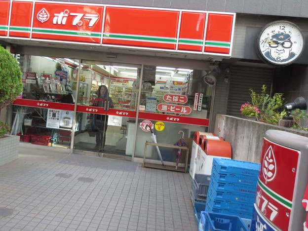 店頭@ぽぷら171119