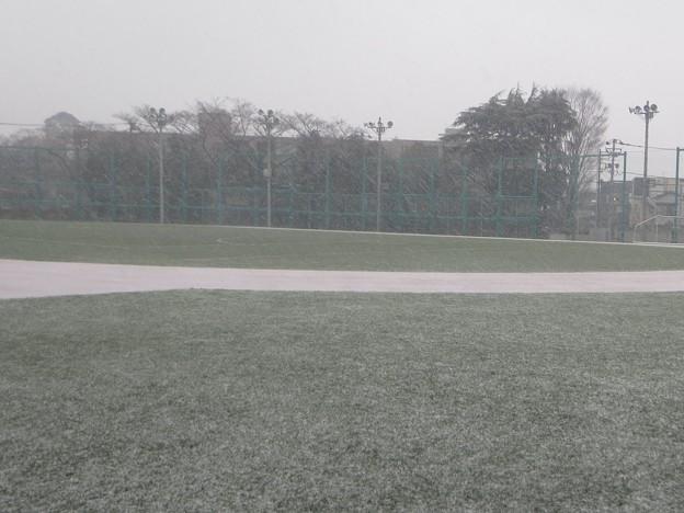 降雪@グラウンド180122