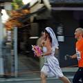 花嫁、走る(逃げる?)