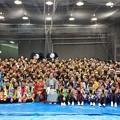 Photos: チーム全員が集まって記念撮影すると・・・。