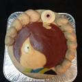 写真: ゲゲゲの鬼太郎ケーキ。