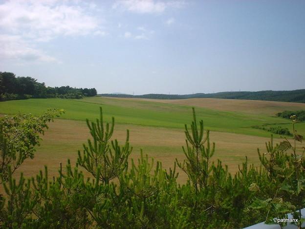 【北部上北広域農道】第二ジブリが丘西側の景観