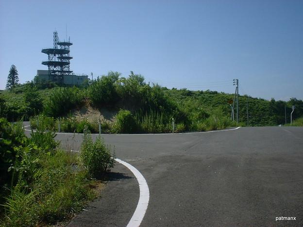 【北部上北広域農道】十二里近辺の無線中継所